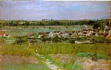 Village Canvas Paintings - Le village de Maurecourt